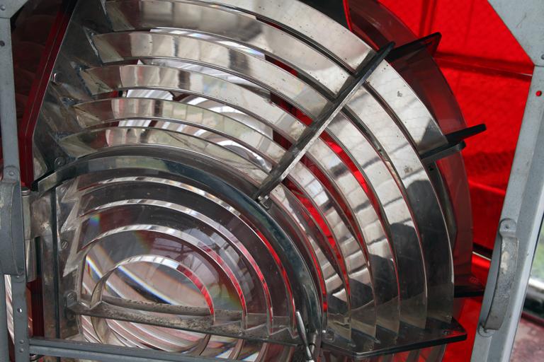 Detail of Fresnel lens
