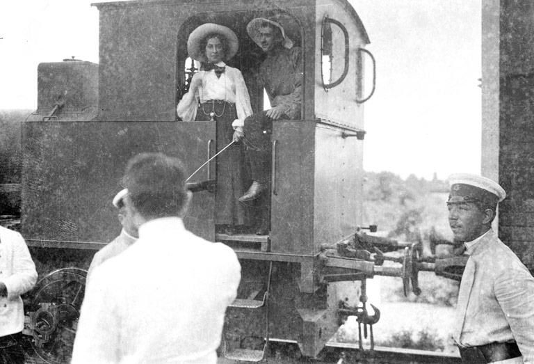 In 1872, the town became the terminus of the Transcaucasian railway.