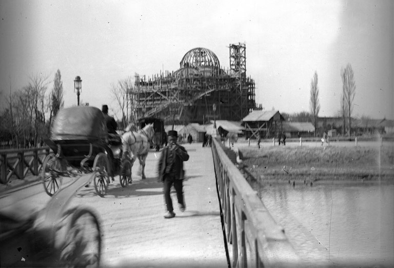 Poti Soboro Cathedral, under construction, 1906-07